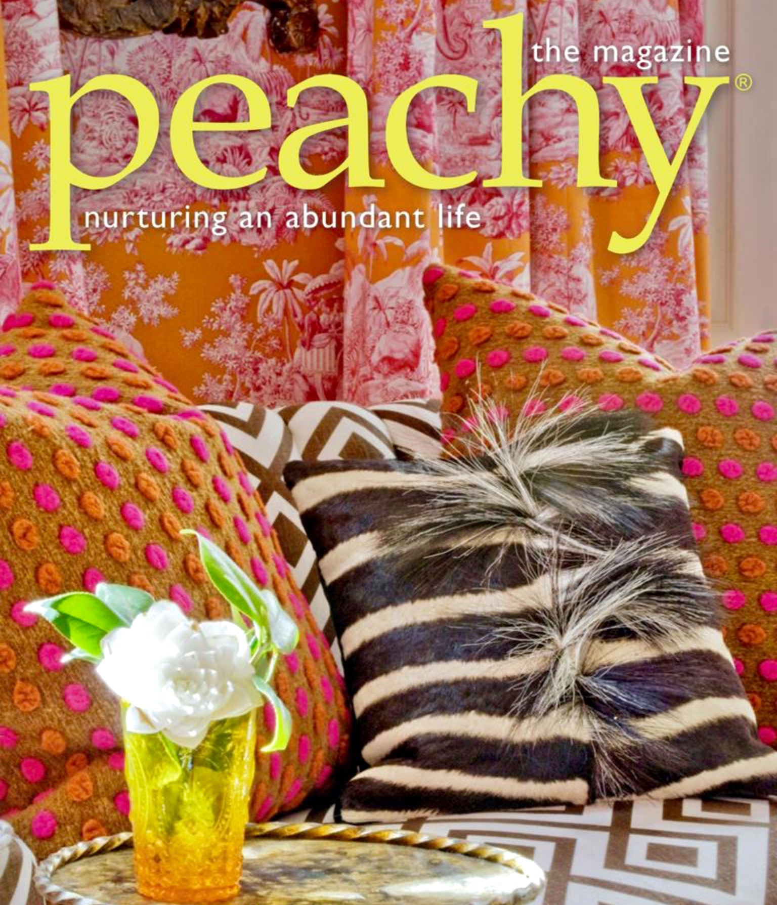 The July August Issue Of Peachy Magazine Is Now Live Featuring Enchanting Work New Orleans Based Designer Melissa Rufty We Are Thrilled To Also Have