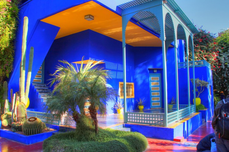 Marrakech express le jardin marjorelle catherine m for Jardin express