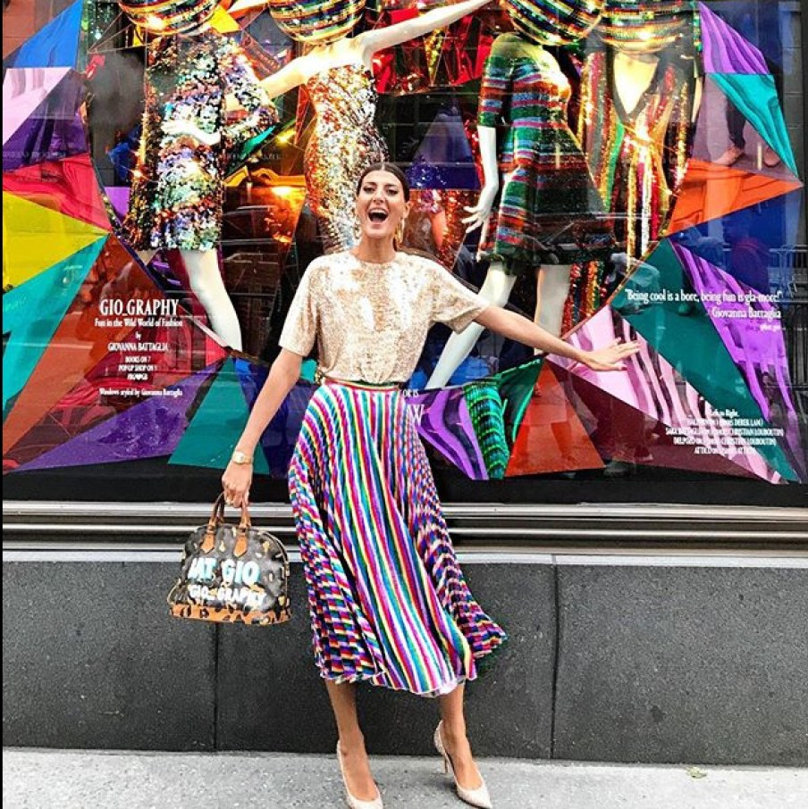 Gio Graphy Giovanna Battaglia At Bergdorf Goodman