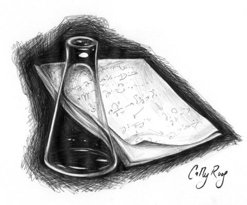 Illustration in ballpoint pen. 2007.