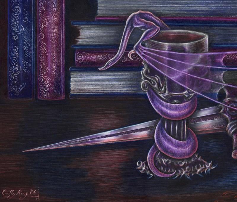 Still Life in Purple