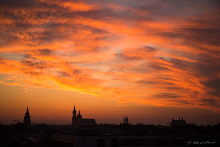 Krakow - sunset