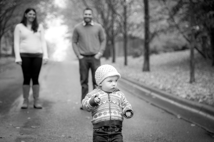 Fall family pictures at a local park in Duluth , MN