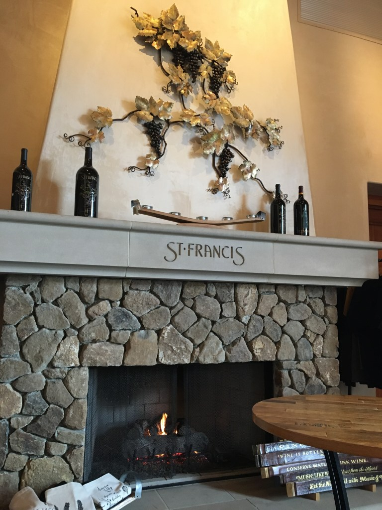 Wine Country Weekend - St. Francis Winery