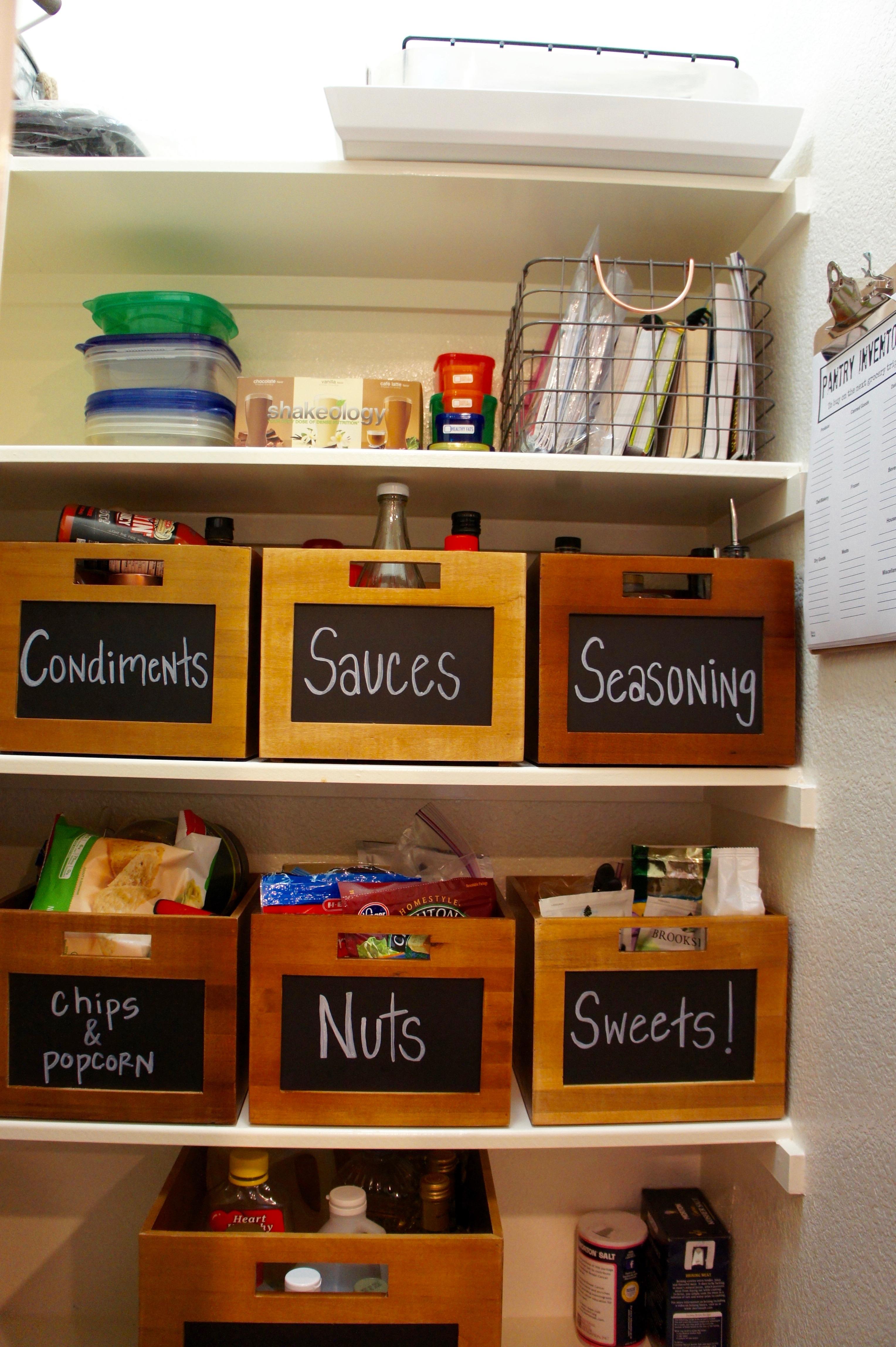 Pantry Organization - #HomeOrganization #BeforeandAfter #Pantry #Organize