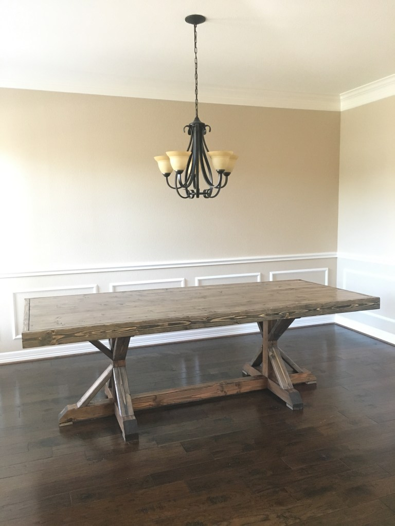 DIY Restoration Hardware Dining Table