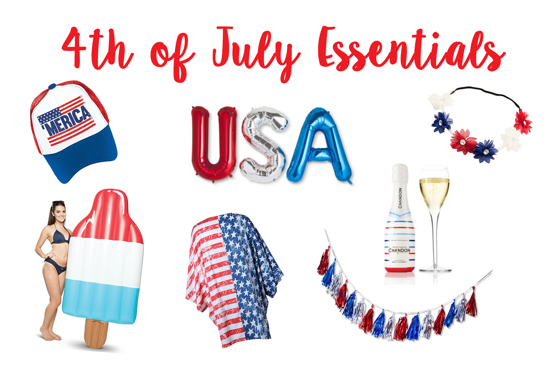 Fourth Of July Essentials - #4thofjuly #holiday #america