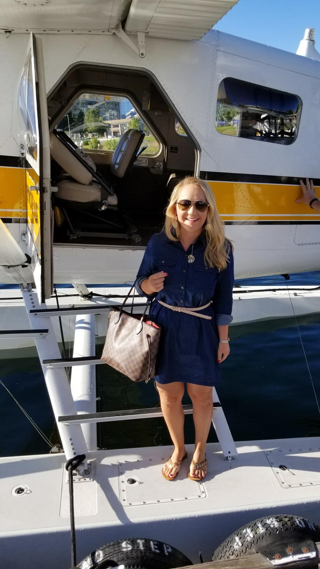 Sea Plane to Victoria #KenmoreAir #SeaPlane