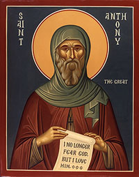 Image result for St. Anthony, Abbot