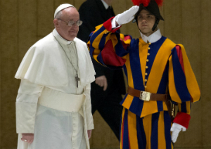 Pope Francis commands the world's smallest professional army.