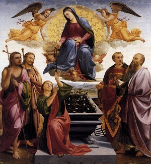 The Assumption or Dormition of Mary. It is not just about Mary. It is also about all of those who say Yes to Jesus Christ. We will experience the fullness of redemption in the Resurrection of the Body and life in the coming Kingdom.