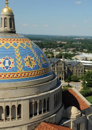The Catholic University of America eagerly awaits the arrival of Pope Francis to Washington, D.C.