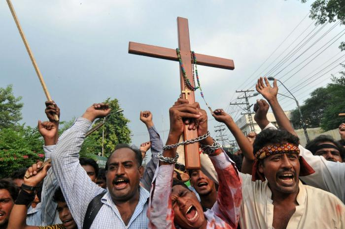 Christians in the Middle East continue to be persecuted.