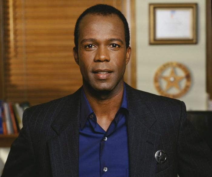 "Clarence Gilyard as deputy James Trivette on ""Walker, Texas Ranger."""