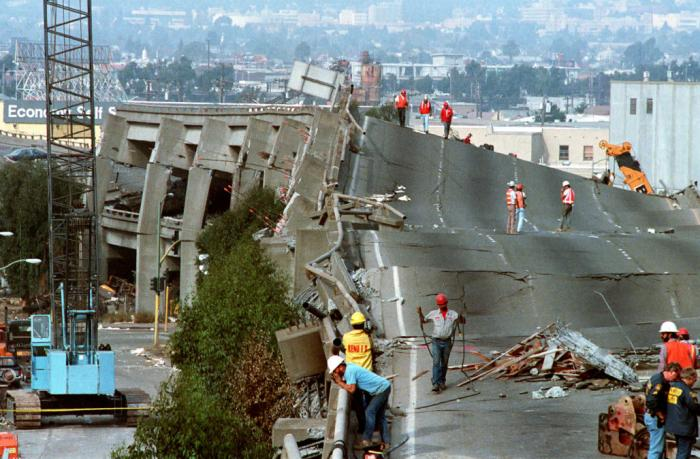 The pancaking of the 880 in Oakland was burned in the minds of millions following the 1989 Loma Prieta quake.