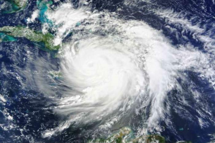Hurricane Matthew hits Haiti.
