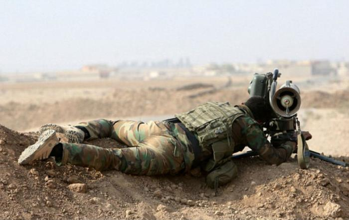 Iraqi troops are hard at work to save Mosul.