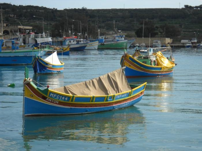 A Luzzo boat.