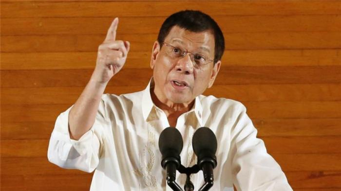 President Duterte has threatened human rights campaigners.
