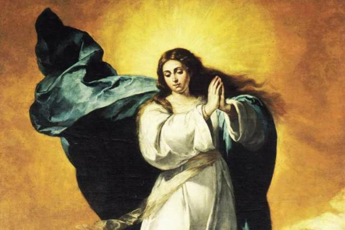 Mary the Immaculate Conception.