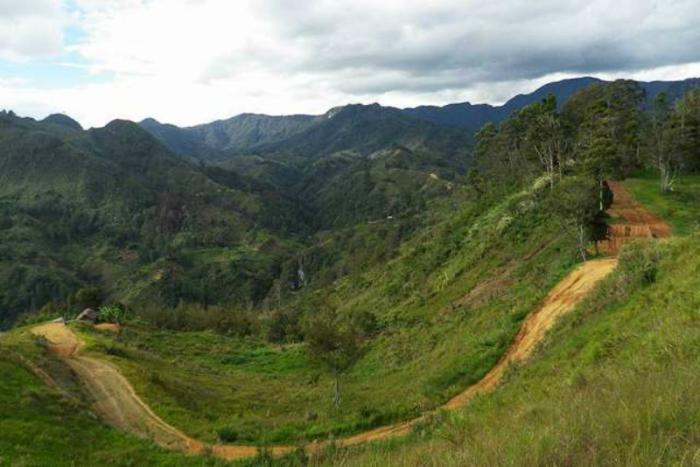 Mountains of Papua New Guinea.