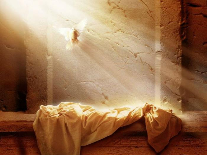 Christ died for our sins so we can reach an eternal life in Heaven.
