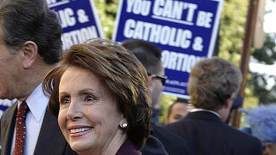 Will Pelosi Finally Be Stopped at the Communion Line ...