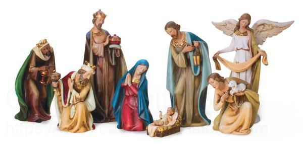 Ceramic Nativity Set 12 12 Inch