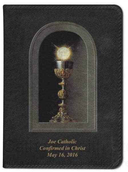 Chalice And Holy Host Catholic Bible