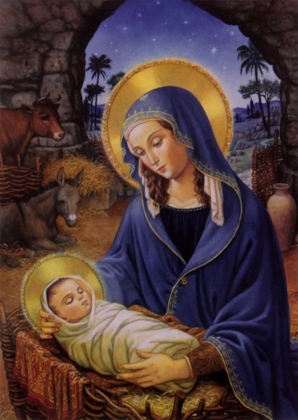 Mary With Child Christmas Card Boxed Set