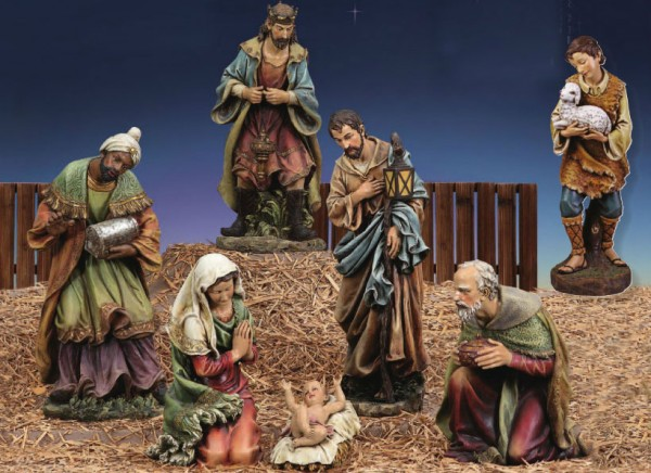 Church Size Nativity Set 39 Scale