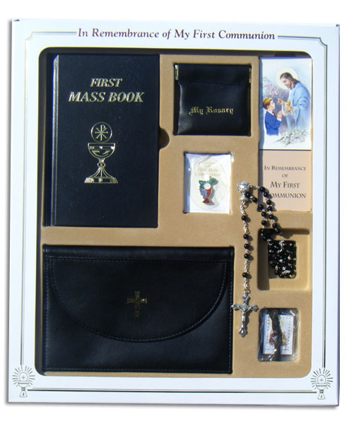 Boys First Communion Gift Set 32202