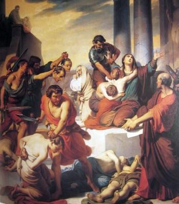 martyrs seven sons saint Felicity