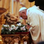 Amid Christmas rush, don't forget to make time for silence, Pope Francis says.