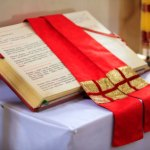 Reading for Thursday, Seventh Week of Easter, Year A. Memorial: Saint Justin, Martyr. Liturgical Colour: red