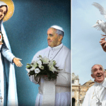 Pope Francis: because of Mary, we are not orphans