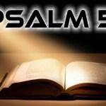 A Prayer for Forgiveness – Psalm 51