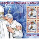 New Vatican stamps for 90th birthday of Benedict XVI, 100th anniversary of Fatima apparitions