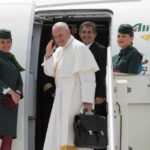 Pope Francis arrives in Portugal for Fatima trip