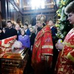 Relics of St Nicholas return to Bari after Russian tour
