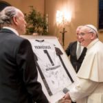 Pope Francis to German soccer team: 'Be athletes for peace'