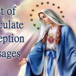 HOMILY FOR FRIDAY OF THE FIRST WEEK OF ADVENT YEAR B. FEAST OF THE IMMACULATE CONCEPTION OF THE BLESSED VIRGIN MARY (2)
