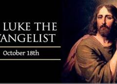 YEAR A: HOMILY FOR FRIDAY OF THE 28TH WEEK IN ORDINARY TIME (1)
