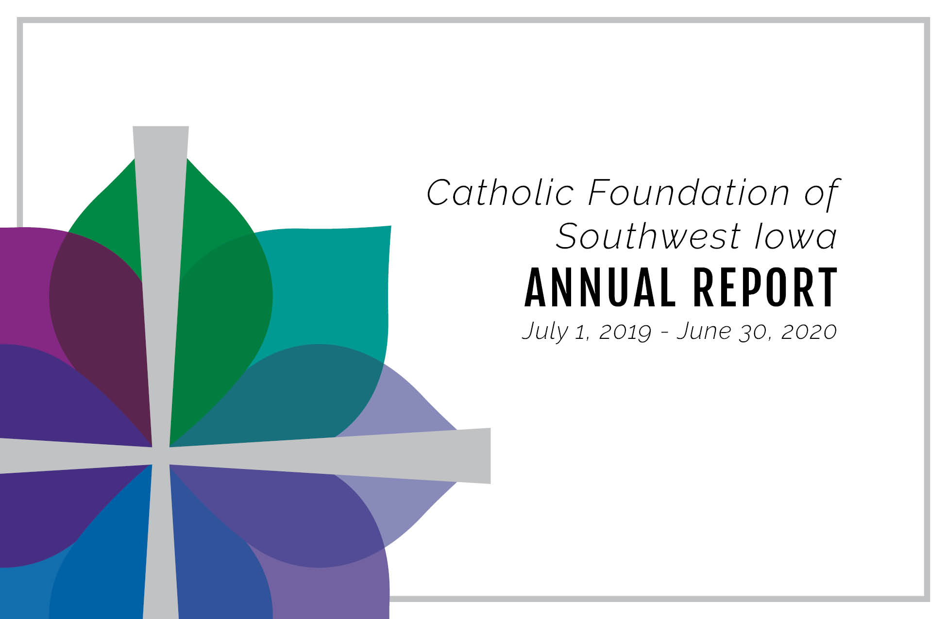 Annual Report FY20 cover graphic