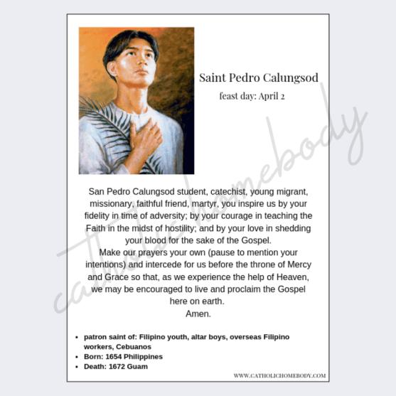 Copy of prayer cards