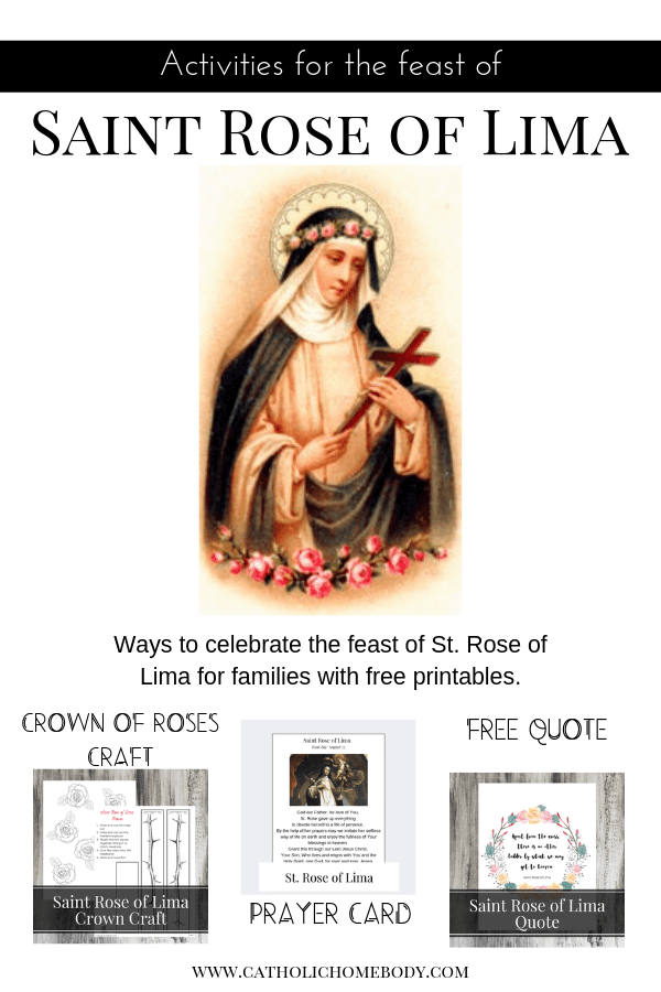 Saint Rose of Lima feast day activities