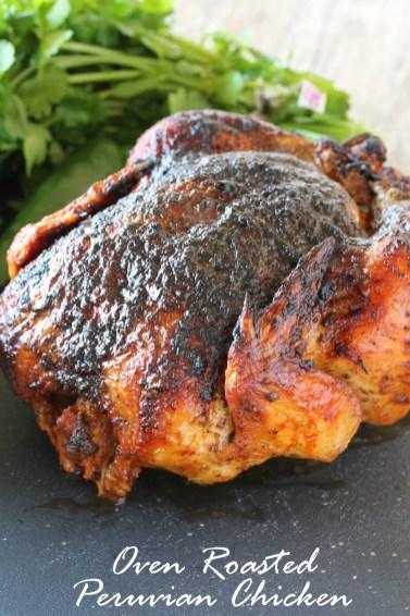 Oven Roasted Peruvian Chicken 1