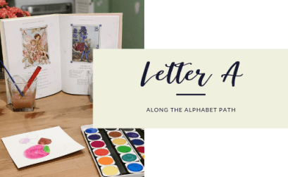 Along the Alphabet path letter a