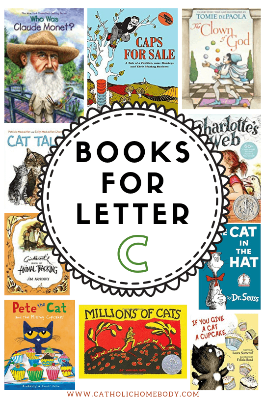 BOOKS TO READ FOR LETTER C