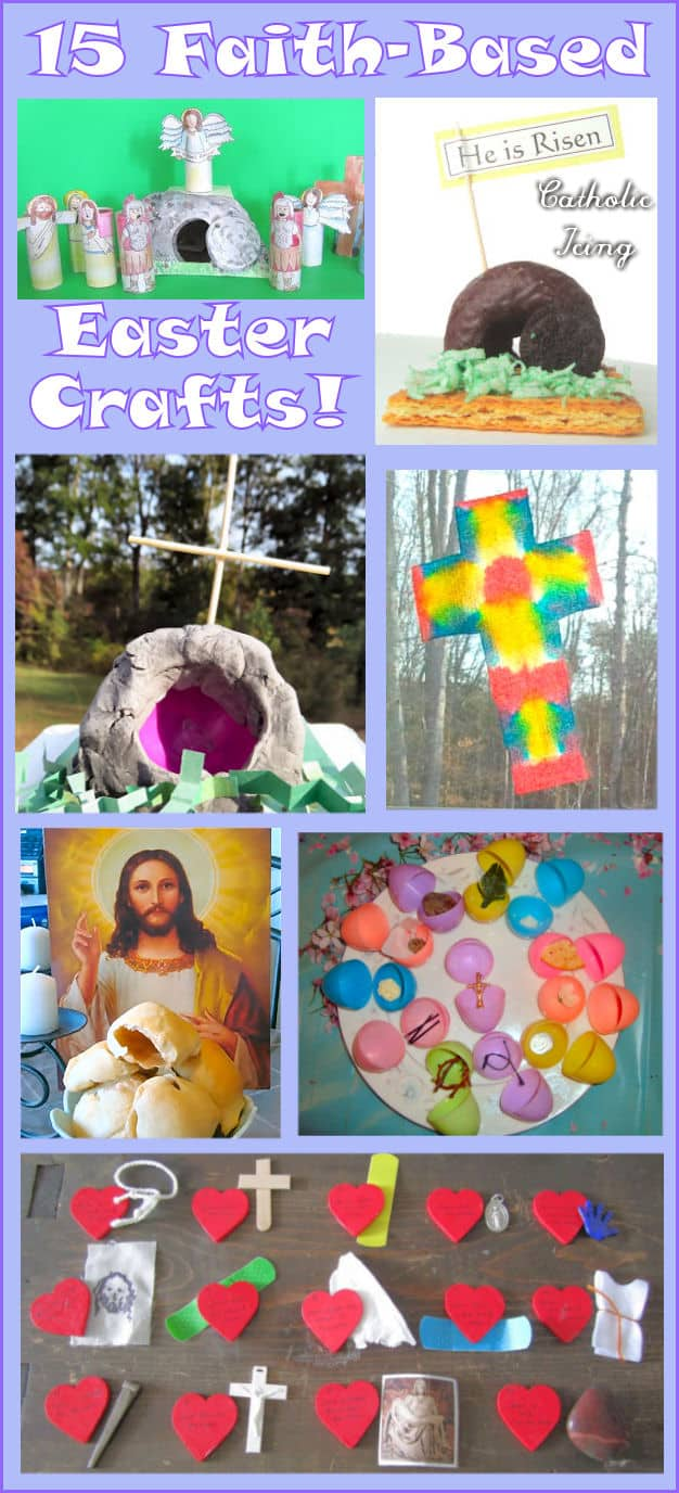 Christian Easter Crafts For Kids Teaching Them The Easter